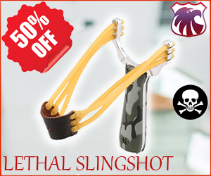 Essential Survival Tips LLC Gear and Material Hot Deal Lethal Slingshot Military Grade