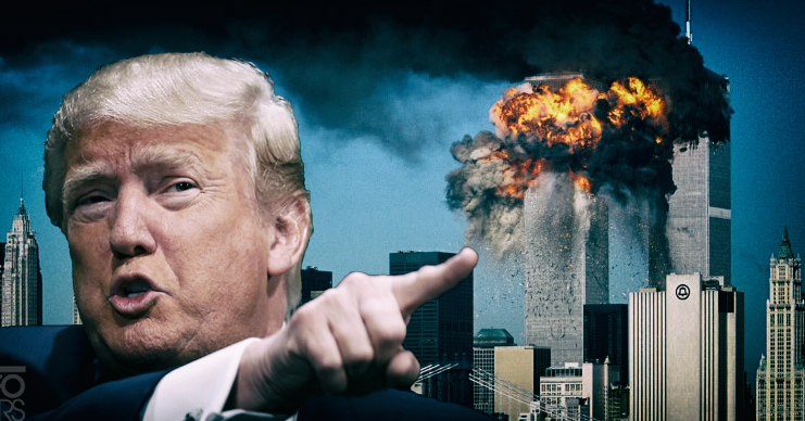 Donald Trump is saying that it was not the Iraquis who blow-Up the WTC. So, the US went to war for nothing.