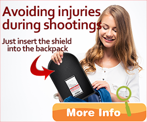 How to avoid injuries, bullets and death during a shooting with a ballistic shield